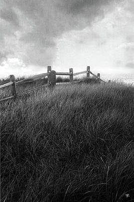 Fence Print by Tom Romeo