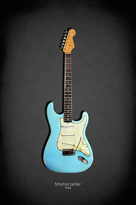 Guitar Photograph - Fender Stratocaster 64 by Mark Rogan