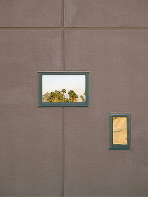 Palm Springs Convention Center Photograph - Fenestrated And Reflect by Stan  Magnan
