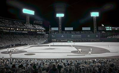 Fenway Park Photograph - Fenway Infrared by James Walsh
