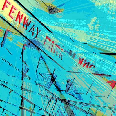 Fenway Park V1 Print by Brandi Fitzgerald