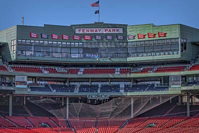 Boston Red Sox Photograph - Fenway Park Interior by Susan Candelario