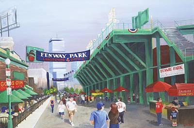 Fenway Park Original by Lynn Ricci