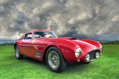 Ferrari 1956 250 Gt Competizione Berlinetta Print by John Adams