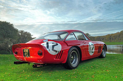 Ferrari 1962 330 Lmb II Print by John Adams