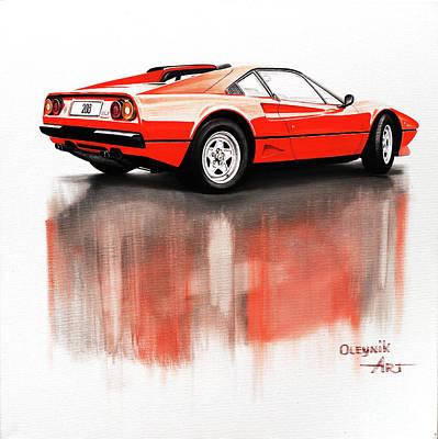 Ferrari 208 Gtb Turbo Original by Artem Oleynik