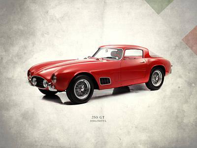 Car Photograph - Ferrari 250 Gt 1956 by Mark Rogan