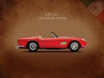 Ferrari 250 Gt 1960 Print by Mark Rogan