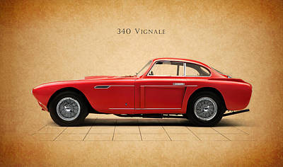Ferrari 340 Print by Mark Rogan