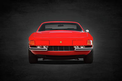 Ferrari 365gtb Print by Mark Rogan