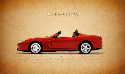 Ferrari 550 Barchetta Print by Mark Rogan