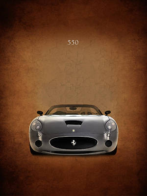 Ferrari 550 Print by Mark Rogan