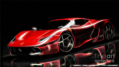 Ferrari Collection Print by Marvin Blaine