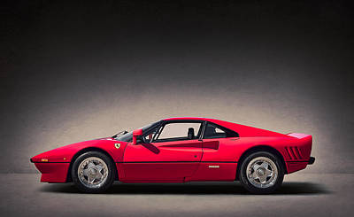 Digital Art - Ferrari Gto by Douglas Pittman