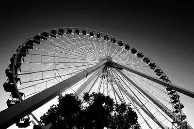 Leda Photograph - Ferris Wheel by Leslie Leda