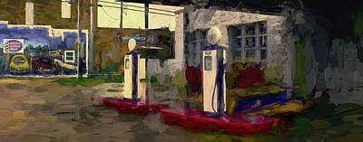 Premium Gas Photograph - Fuel The Need by F Leblanc