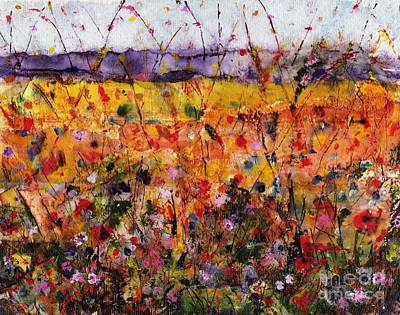 Abstact Painting - Field Of Dreams by Frances Marino