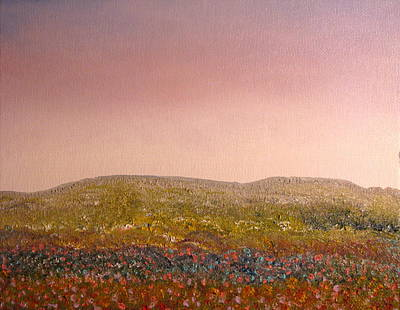 Field Of Flowers Print by Kimby Faires