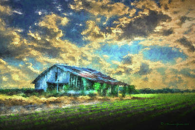 Shack Photograph - Field Of Green by Marvin Spates