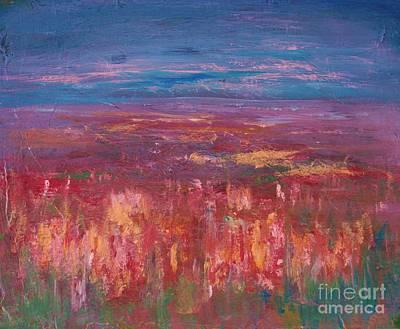 Field Of Heather Original by Julie Lueders