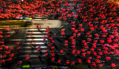 Nike Photograph - Field Of Men-roses by Shahar Wider