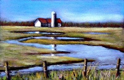 Pastel - Fields In Spring by Joyce Geleynse