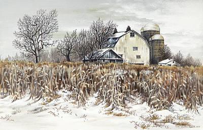 Fields Of February Original by Carol Bonick