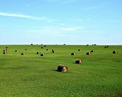 Rural Scenes Photograph - Fields Of Green by Mark Mickelsen