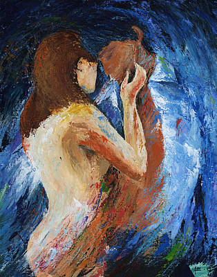 Art In Acrylic Painting - Fierce by Ash Hussein
