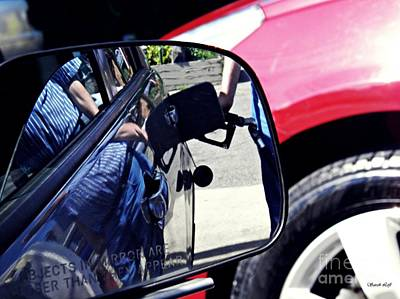Car Er Photograph - Fill'er Up by Sarah Loft