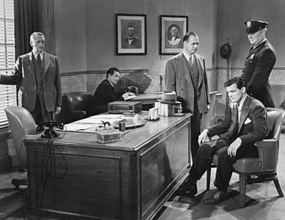 Film Still Office Arrest Print by Underwood Archives