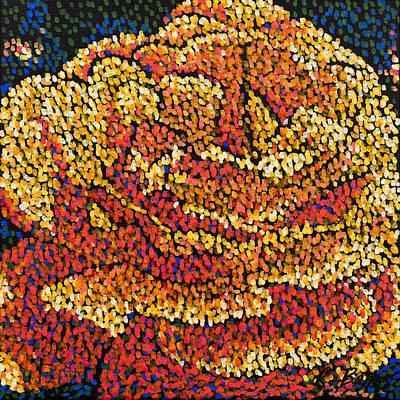 Filoli Rose 2 Original by Rebecca Bangs