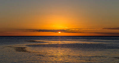 Sunset Photograph - Final Act by Fred Boehm