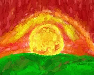 Final Sunrise Print by Dan Sproul