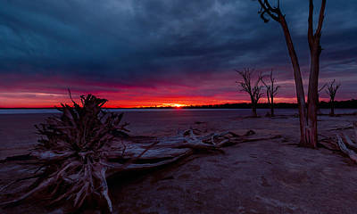 Western Australia Photograph - Final Sunset by Julian Cook