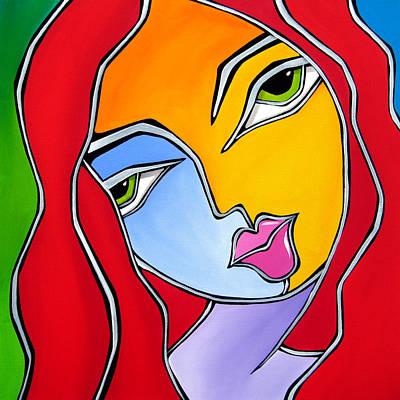 Find A Way - Original Abstract Art By Fidostudio Original by Tom Fedro - Fidostudio