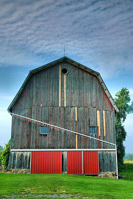 Finger Lakes Barn Iv Print by Steven Ainsworth