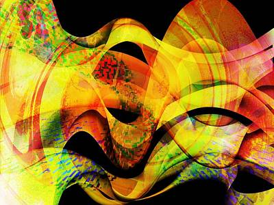 Digital Art - Fire by Contemporary Art