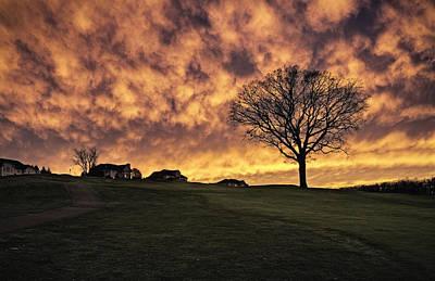 Fire In The Sky Original by Eduard Moldoveanu