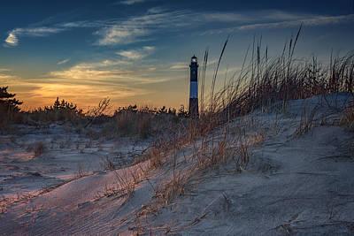 Guiding Light Photograph - Fire Island Dunes by Rick Berk