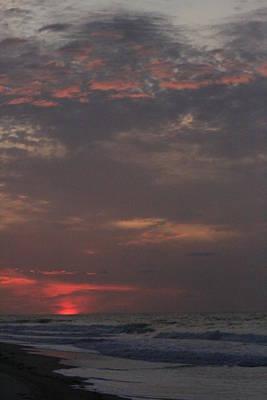 Fire Island Sunrise Print by Christopher Kirby