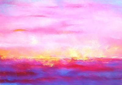 Fire Lake Original by Dan Sproul