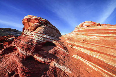 Valley Of Fire Photograph - Fire Wave by Chad Dutson