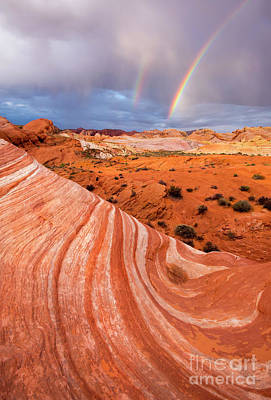 Valley Of Fire Photograph - Fire Wave Covenant by Mike Dawson