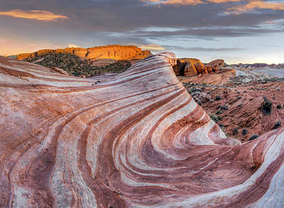 Valley Of Fire Photograph - Fire Wave by Leland D Howard