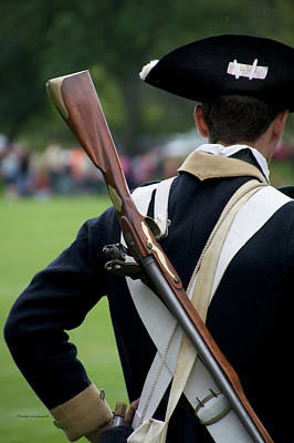Revolutionary War Mixed Media - Firearms Military Revolutionary War 01 by Thomas Woolworth