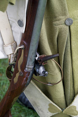 Revolutionary War Mixed Media - Firearms Military Revolutionary War 02 by Thomas Woolworth