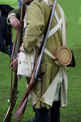 Revolutionary War Mixed Media - Firearms Military Revolutionary War 03 by Thomas Woolworth