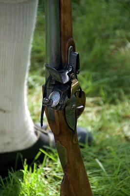 Revolutionary War Mixed Media - Firearms Military Revolutionary War 04 by Thomas Woolworth