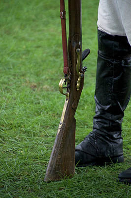 Revolutionary War Mixed Media - Firearms Military Revolutionary War 05 by Thomas Woolworth